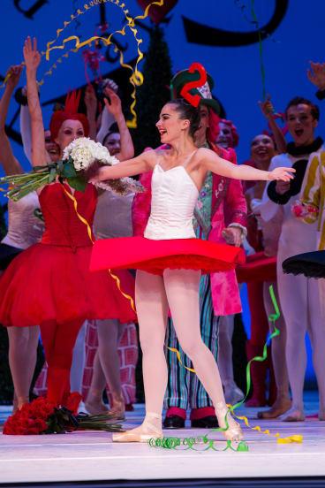 Valerie Tereshchenko is named the 2017 Telstra Ballet Dancer Award winner in Sydney.