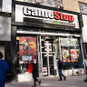 GameStop shares go on another rollercoaster ride