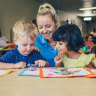 Children at Goodstart Early Learning centres.