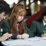 Students at Merrylands High were involved in the pilot of the new HSC numeracy course