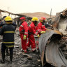 Anger mounts after more than 90 die in fire on Iraq COVID ward