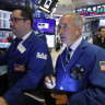 Wall Street eases on US-China trade caution