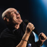 Phil Collins, the essence of vanilla in 'dagtastic' night out