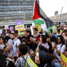 Palestinian flags 'in the heart of Tel-Aviv' anger Israeli PM