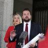 'Tail between his legs': Labor leaps on kerbside return in budget blast