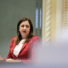 Shifts show in border tone as Palaszczuk claims vindication on vaccines for kids