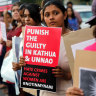 Indian rape victim set on fire by mob as she went to give evidence