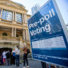 'It's become a thing': The rise and rise of pre-poll voters