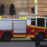 Residents stranded after fire at Newtown apartment block