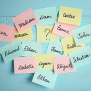 Can't decide on a baby name? Would you pay for someone to choose one for you?