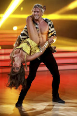 Jett Kenny on Dancing With the Stars.