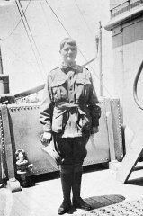 """Maud Butler at 16 stowed away on the troopship Suevic bound for Egypt to """"help in some way"""" during WWI."""