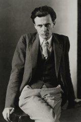 Aldous Huxley, photographed for Vanity Fair in 1927.
