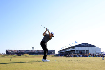 Louis Oosthuizen failed to convert his early form into a win.