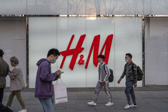 Chinese boycots have included major Western brands, such as H&M, in response to ctiticism from companies of the treatment of workers in Xinjiang.