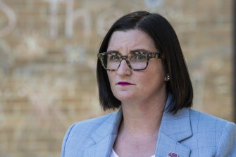 NSW Education Minister Sarah Mitchell says educators are not too noble to be questioned.