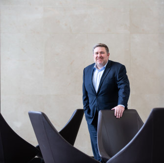 Adani Australia CEO Lucas Dow.