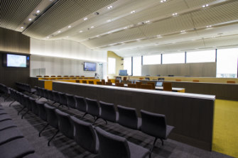 New ACT Supreme Court ceremonial courtroom