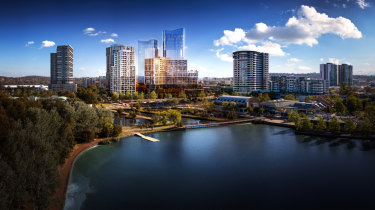 Apartments are changing the skyline across Canberra, including in Belconnen.