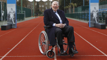After athletics, Roger Bannister went on to become a leading neurologist.
