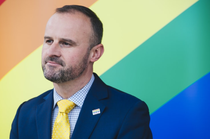 ACT Chief Minister Andrew Barr said the draft laws balance protections for gay teachers and students with the right to religious freedom.
