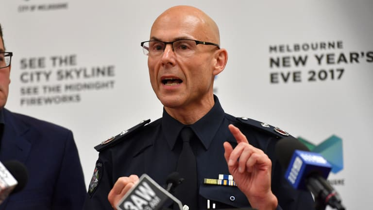 Deputy Commissioner Andrew Crisp said police will lock down Melbourne's CBD and Docklands this New Year's Eve.