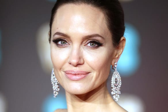 Angelina Jolie loves concealer, never gets a moment to herself