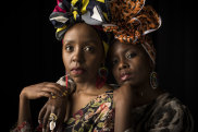 NEWS: Niwa Mburuja (left) & Wanyika Mshila are know as 2 Sydney Stylists on Instagram and will be part of the All About Women festival next year.