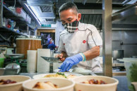 ChefChan Hon Meng still works in the kitchen every day despite his successful expansion.