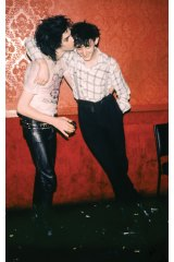 Rowland S. Howard and Nick Cave, early 1980s. Courtesy of the artist and M.33.