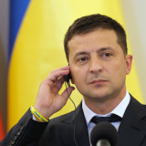 Trump wanted Ukraine President Volodymyr Zelensky to announce an investigation of the Joe Biden's son.