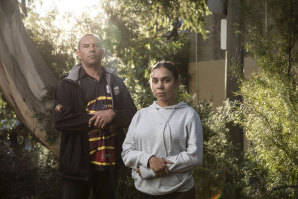Nathan Moran, CEO of the Metro Local Aboriginal Land Council, and Kyah Patten will be marching in Saturday's Black Lives Matter protest.