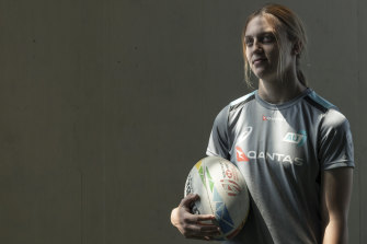 Rising star: Georgia Hannaway will make her World Series debut in Dubai next weekend.