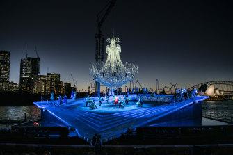 Opera Australia's La Traviata on Sydney Harbour.