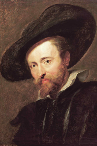 Peter Paul Rubens, here in a 1630 self-portrait, was known for a more bravura style.