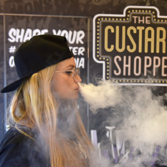 "A ""vape jam"" trade show in London in April."