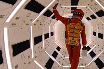 The film adaptation of Arthur C. Clarke's 2001: A Space Odyssey.