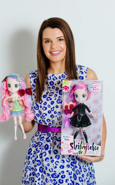 Toy designer Madeleine Hunter