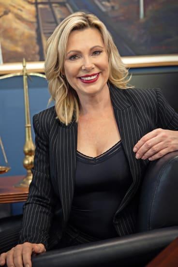 Queensland Law Society president Christine Smyth.