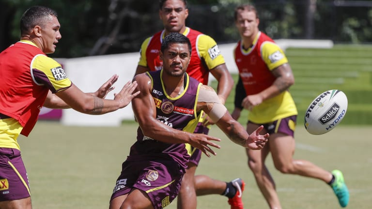 Rocket: Anthony Milford felt the wrath of Wayne Bennett.