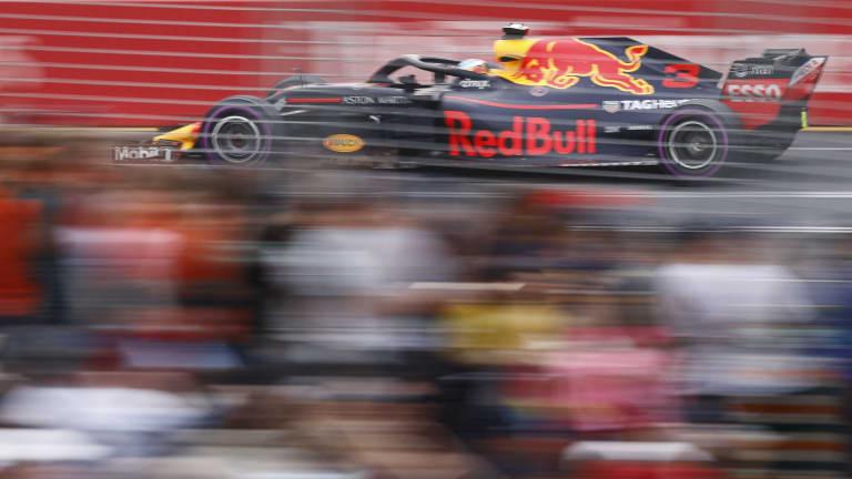Ricciardo during qualifying.