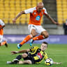 Brisbane Roar in seventh place after draw with Wellington Phoenix