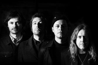 Australian 'supergroup' ARC will tour nationally in August playing The Beatles Abbey Road in full. L-R Darren Middleton, Davey Lane, Mark Wilson & Kram