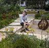 'Journey' garden blooms into golden winner at Melbourne flower show