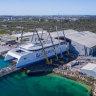 $100 million catamaran rolls out of Perth shipyard