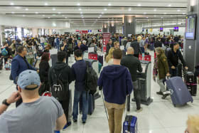 Letters: Two hours to get through customs? What a joke