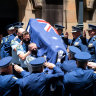 'She was one of a kind': Senior Constable Kelly Foster farewelled after tragic whirlpool death