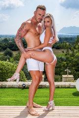 Erin and Eden from Love Island Australia.