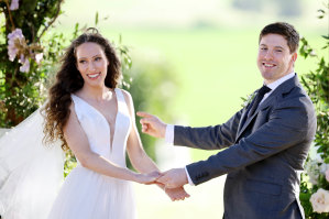 Popular couple Belinda and Patrick from Married at First Sight's current Australian season.