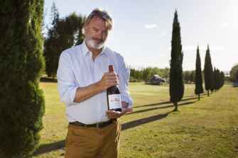 In his other life, Neill is a winemaker, whose Two Paddocks pinot noir is earning its own wave of acclaim.
